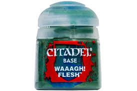Citadel Base 12ml – Waaagh! Flesh NEUF Citadel
