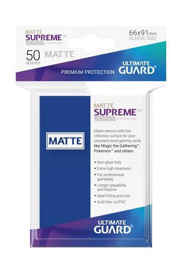 UG 50 Sleeves Standard Bleu Mat NEUF Accessoires