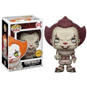 472 – IT : Pennywise (With Boat) Chase NEUF Funko POP!