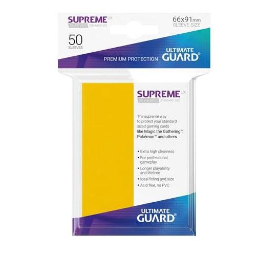 50 Sleeves Standard Jaune NEUF Ultimate Guard