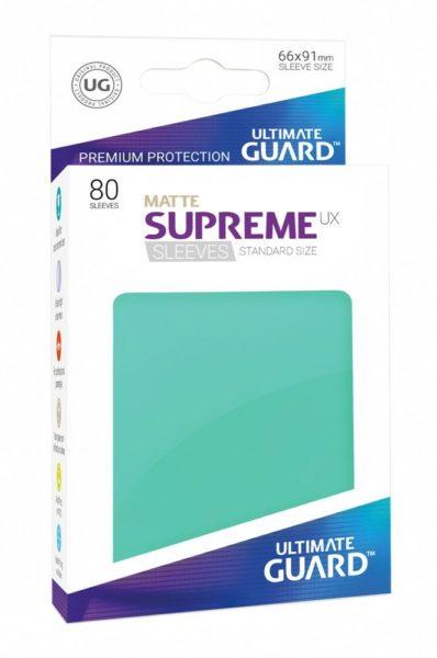 UG 80 Sleeves Standard Turquoise Mat NEUF Ultimate Guard