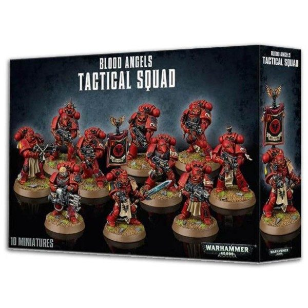 Blood Angels Tactical Squad NEUF Warhammer 40000