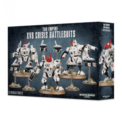 Tau Empire XV8 Crisis Battlesuits NEUF Warhammer 40000