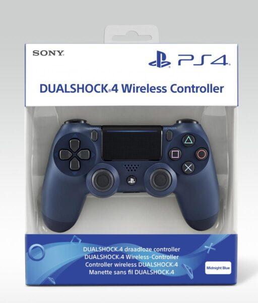 Control Pad Dualshock 4 V2 Midnight Blue NEUF Playstation 4