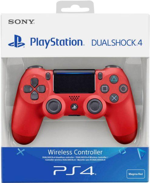Control Pad Dualshock 4 V2 Magma Red NEUF Playstation 4