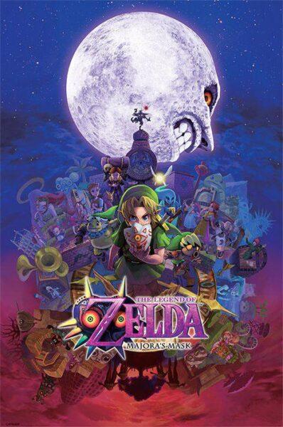 Zelda : Majora's Mask NEUF Poster