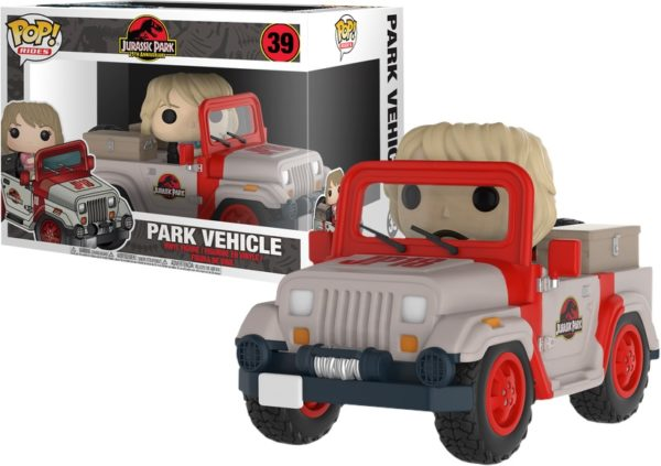 Jurassic Park : Park Vehicle NEUF Funko POP!