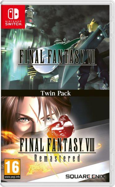 Final Fantasy VII & VIII Twin Pack NEUF Nintendo Switch