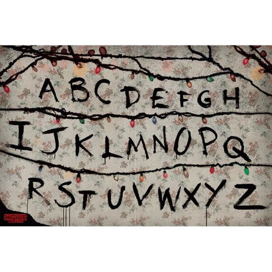 Strangers Things: Letters NEUF Poster