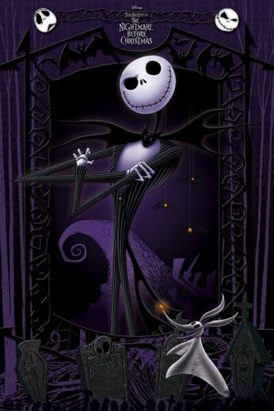 Nightmare Before Christmas : Jack Skellington NEUF Poster