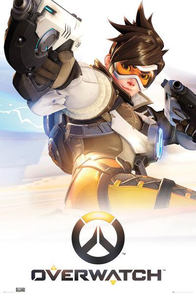 Overwatch : Tracer NEUF Poster