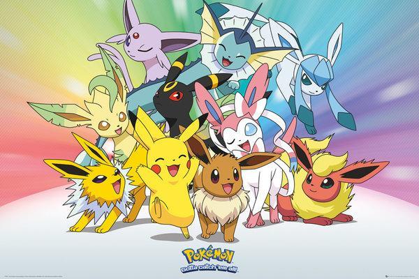 Pokemon NEUF Poster