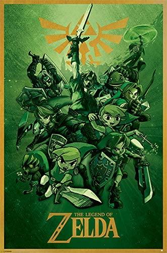Zelda NEUF Poster