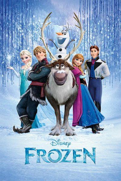 La reine des neiges NEUF Poster