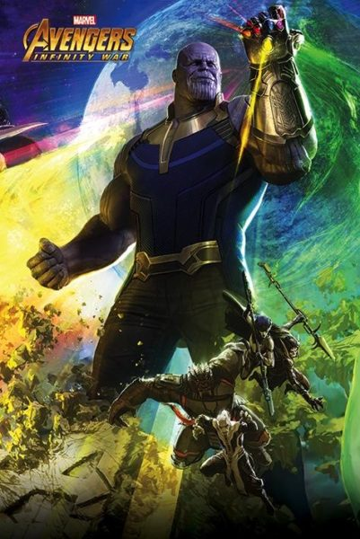 Marvel : Thanos NEUF Poster