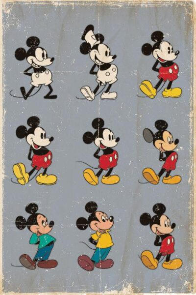 Disney : Mickey Mouse NEUF Poster