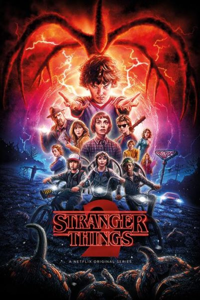 Stranger Things NEUF Poster