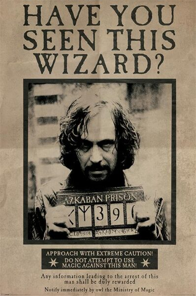 Harry Potter : Sirius Black NEUF Poster