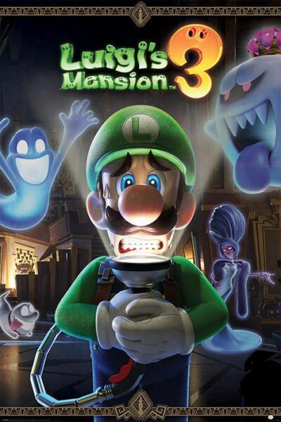 Luigi's Mansion 3 NEUF Poster