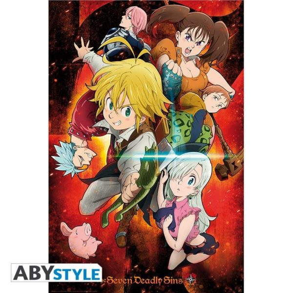 Seven Deadly Sins NEUF Poster