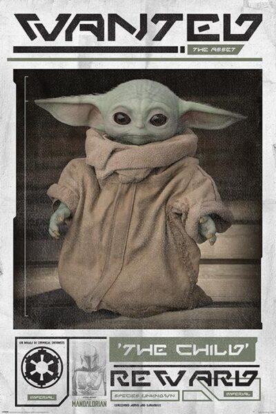 Star Wars : The Child / Grogu NEUF Poster