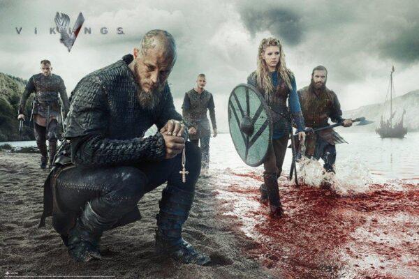Vikings NEUF Poster