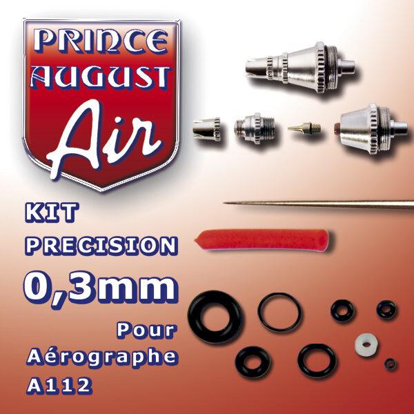 Kit de précision 0.3mm pour aérographe A112 NEUF Prince Auguste