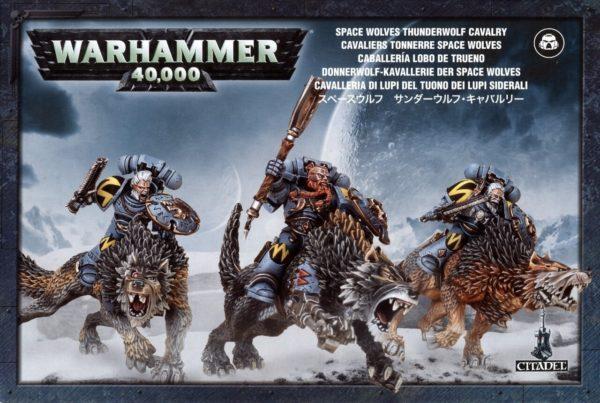 Space Wolves Thunderwolf Cavalry NEUF Warhammer 40000