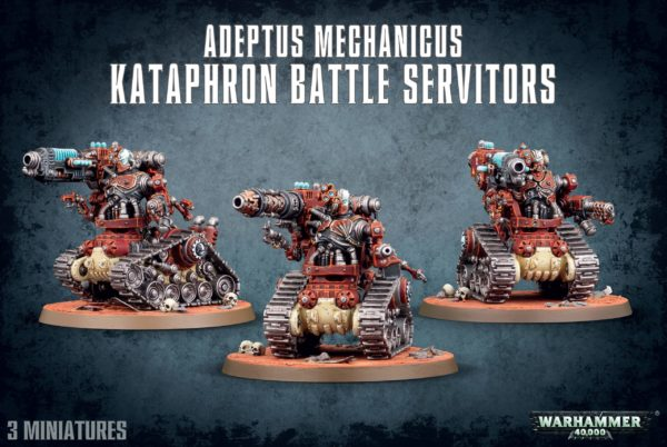 Adeptus Mechanicus Kataphron Battle Servitors NEUF Warhammer 40000