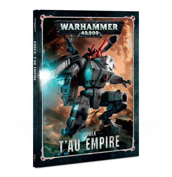 Codex T'Au Empire NEUF Warhammer 40000