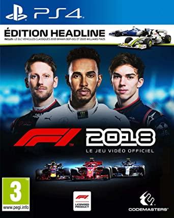 F1 2018 Headline Edition OCCASION Playstation 4