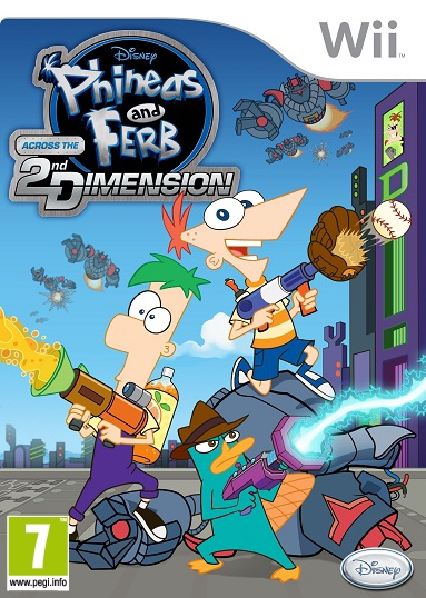 Phineas & Ferb OCCASION Nintendo Wii