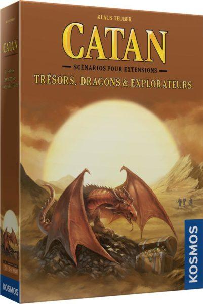 Catan : Trésors, Dragons Et Explorateurs NEUF Jeux De Société