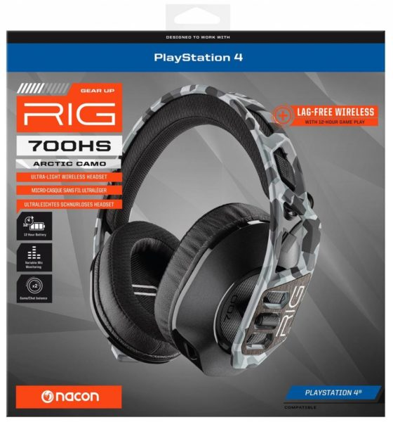 Gaming Headset Plantronics RIG 700 HS NEUF Playstation 4