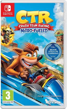 Crash Team Racing Nitro Fueled OCCASION Nintendo Switch