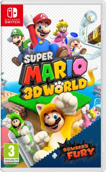 Super Mario 3D World + Bowser's Fury NEUF Nintendo Switch