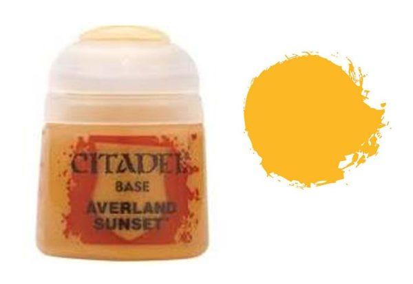 Citadel Base 12ml – Averland Sunset NEUF Citadel