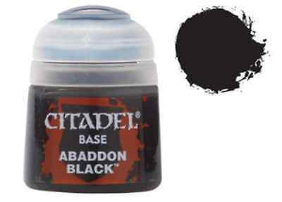Citadel Base 12ml – Abaddon Black NEUF Citadel