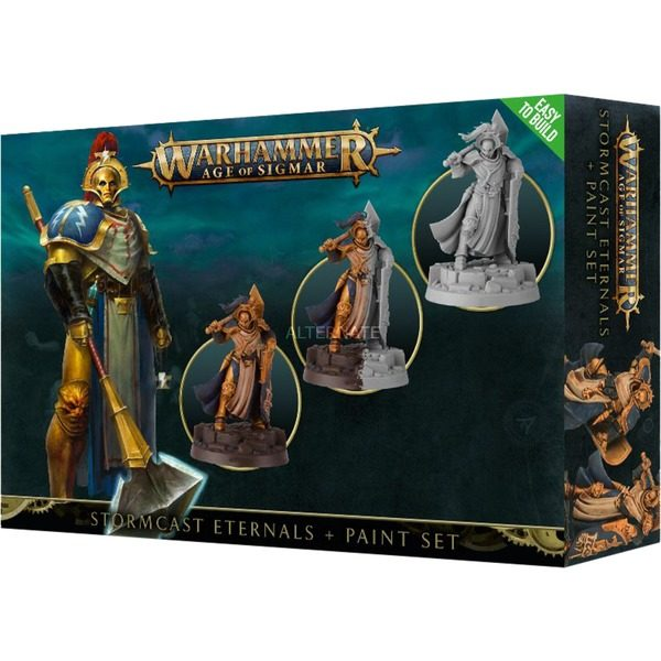 Stormcast Eternals + Paint Set NEUF Warhammer Age Of Sigmar
