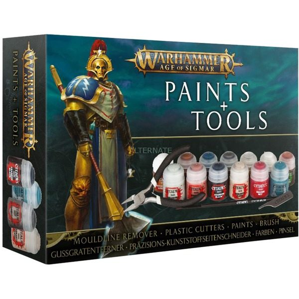 Paint + Tools NEUF Warhammer Age Of Sigmar