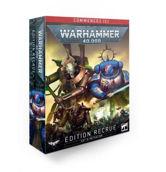 Recrue NEUF Warhammer 40000