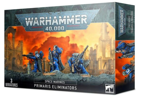 Space Marines Primaris Eliminators NEUF Warhammer 40000