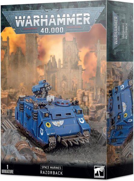 Space Marine Razorback NEUF Warhammer 40000
