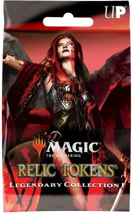 Relic Token Legendary Collection NEUF Ultra Pro
