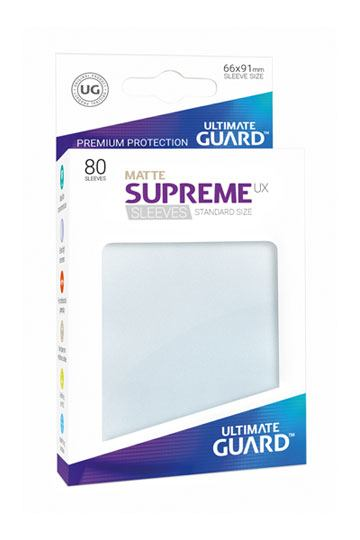 80 Sleeves Standard Frosted Mat NEUF Ultimate Guard
