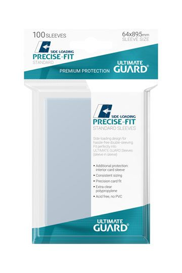 100 Sleeves Standard Precise-Fit NEUF Ultimate Guard