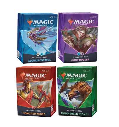 Challenger Deck 2021 Set De 4 Decks VF Magic The Gathering
