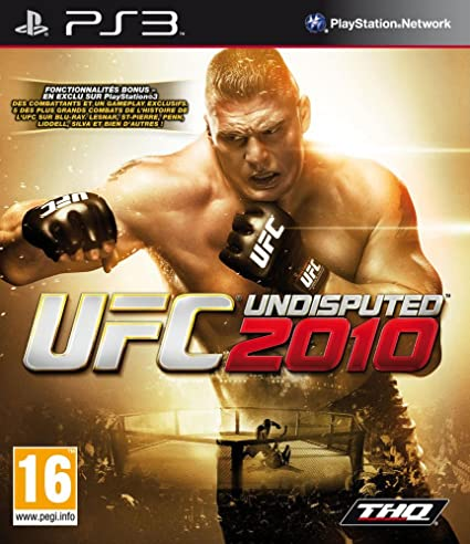 UFC 2010 OCCASION Playstation 3