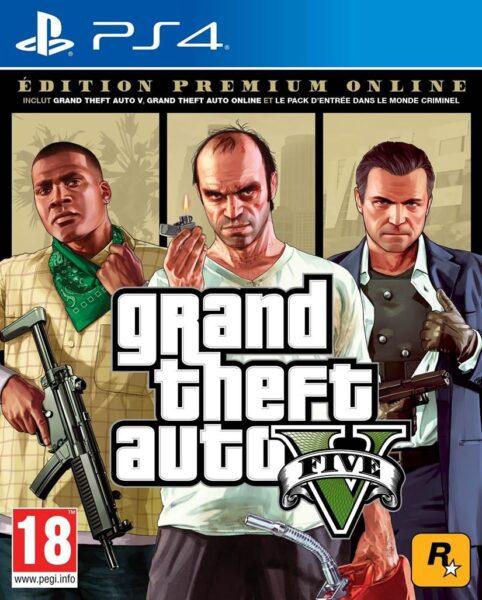 GTA 5 Edition Premium Online NEUF Playstation 4