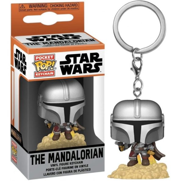 Star Wars : The Mandalorian NEUF Porte-Clés